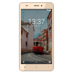 Konrow Link 55 - Smartphone 4G LTE - Android 6.0 - Ecran 5.5'' - 8Go - Double Sim - Or