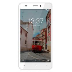 Konrow Link 55 - Smartphone 4G LTE - Android 6.0 - Ecran 5.5'' - 8Go - Double Sim - Blanc
