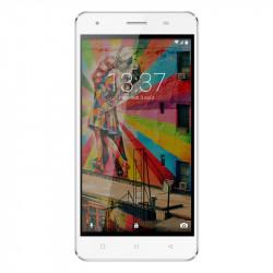 Konrow Link 50 - Smartphone 4G LTE - Android 6.0 - Ecran 5'' - 8Go - Double Sim - Blanc