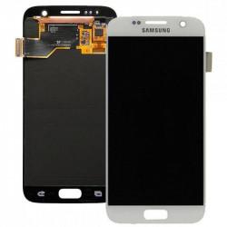 Écran LCD Complet Original Pour Samsung G930 Galaxy S7 Blanc