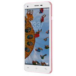 Konrow Cool 55 - Smartphone Android 6.0 - Ecran IPS 5.5'' - 8Go - Double Sim - Or Rose
