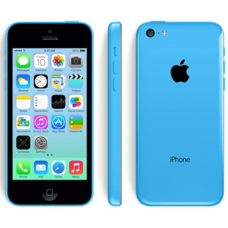 "Iphone 5C 8Go Bleu - ""RelifeMobile"" Grade A+"