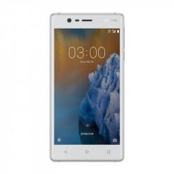 Nokia 3 - Double Sim - Blanc / Argent