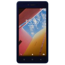 Konrow Just 5 - Smartphone Android 7.0 Nougat - Ecran IPS 5'' - 8Go - Double Sim - Bleu Nuit