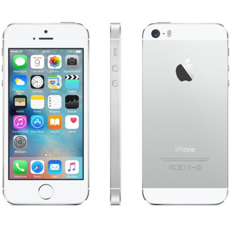 """Iphone 5S 64GB Argent - """"RelifeMobile"""" Grade A+"""