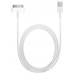 Cable Data 30 Pins Vers USB Pour Iphone 3 / 3G / 4 / 4S
