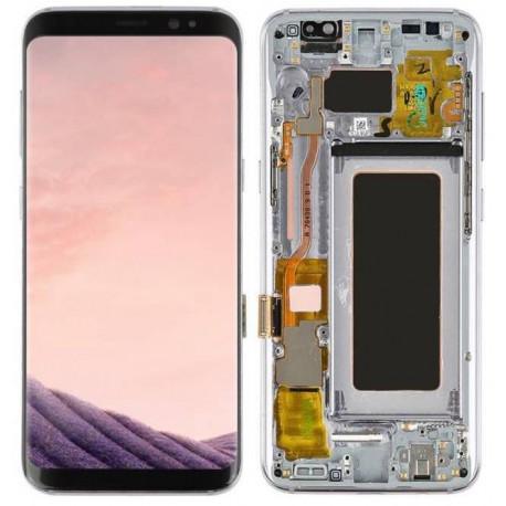 Écran LCD Original Pour Samsung G950 Galaxy S8 Gris Orchide