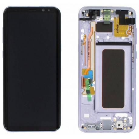 Écran LCD Original Pour Samsung G955 Galaxy S8 Plus Gris Orchid