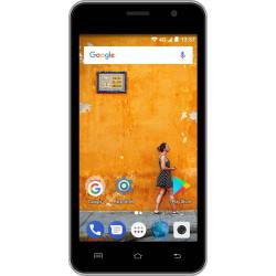 Konrow Easy Touch - Smartphone 4G - Android 7.0 - Ecran 4.5'' - Double Sim - 8Go, 1Go RAM - Noir