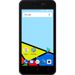 Konrow Easy Feel - Android 7.0 - 4G - Ecran 5'' - Double Sim - 16Go, 1Go RAM - Noir