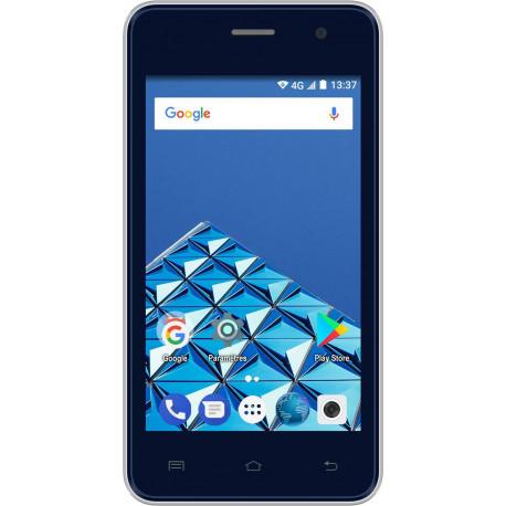 Konrow Easy One - Smartphone Android - 4G - Ecran 4'' - Double Sim - 8Go, 1Go RAM - Bleu