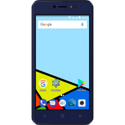 Konrow Easy Feel - Android 7.0 - 4G - Ecran 5'' - Double Sim - 16Go, 1Go RAM - Bleu