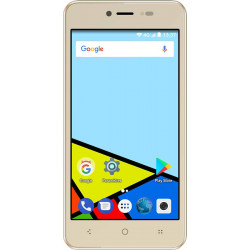 Konrow Easy Feel - Android 7.0 - 4G - Ecran 5'' - Double Sim - 16Go, 1Go RAM - Or