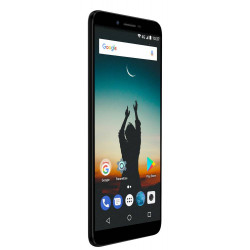 Konrow Sky - Smartphone Android - 4G - Écran 5.5'' - Double Sim - 16Go, 2Go RAM - Noir