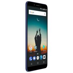 Konrow Sky - Smartphone Android - 4G - Écran 5.5'' - Double Sim - 16Go, 2Go RAM - Bleu