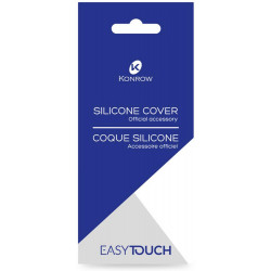 Coque Silicone Transparente Officiel pour Konrow Easy Touch