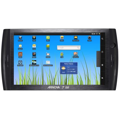 Tablette Arnova 7 G2 - Écran de 7'' - Mémoire de 8Go - Android 2.3 - Wifi - Noir
