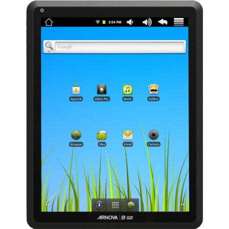 Tablette Arnova 9 G2 - Écran de 9.7'' - Mémoire de 8Go - Android 2.3 - Wifi - Noir (Reconditionné Grade A)