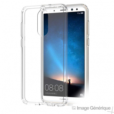 Coque Silicone Transparente pour Huawei Mate 10 Lite
