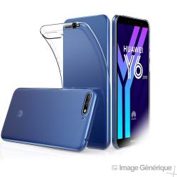 Coque Silicone Transparente pour Huawei Y6 2018