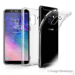Coque Silicone Transparente pour Samsung Galaxy J6