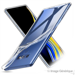 Coque Silicone Transparente pour Samsung Galaxy Note 9