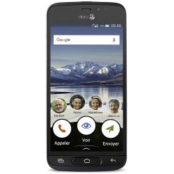 Doro 8040 - 4G/LTE - 16Go, 2Go RAM - Graphite