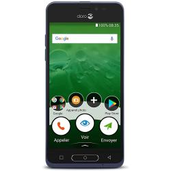 Doro 8035 - 4G/LTE - 16Go, 2Go RAM - Bleu nuit