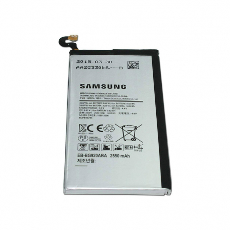 Batterie d'origine Pour Samsung SM-G920 Galaxy S6 (Original)