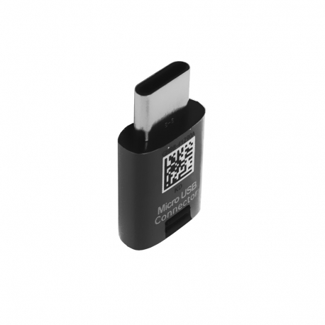 Samsung GH98-41290A - Adaptateur Micro USB Vers USB Type-C - Noir (En Vrac)