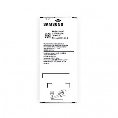 Batterie d'origine Pour A510 Galaxy A5 2016 (Original, Modèle Samsung EB-BA510ABE)
