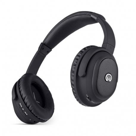 Hypergear Stealth - Casque Bluetooth - Noir (avec câble Jack)