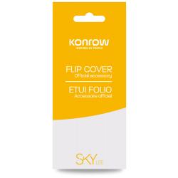 Flip Cover Noir Pour Konrow Sky Lite