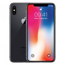 """iPhone X 256Go Gris Sideral - """"RelifeMobile"""" Grade A+"""