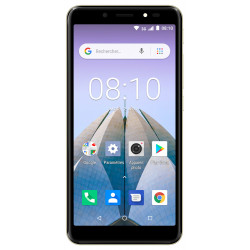 Konrow City 55 - Android 8.1 - 3G - Écran 5.34'' - 8Go, 1Go RAM - Or