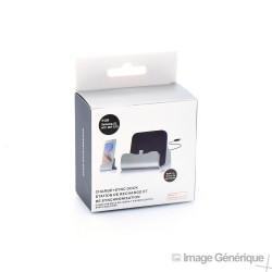 Dock de Charge et Synchronisation - Connecteur Micro USB - Noir (Blister)