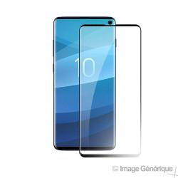 Verre Trempé Intégral Pour Samsung Galaxy S10 - Noir