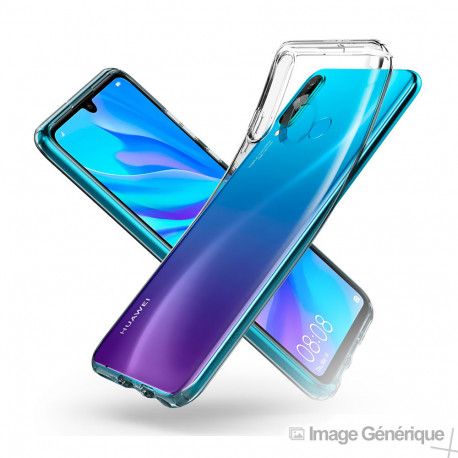 Coque Silicone Transparente pour Huawei P30 Lite