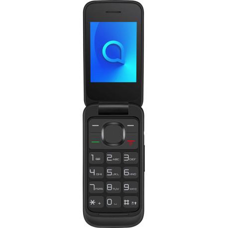 Alcatel 2053D - Téléphone à clapet - Noir