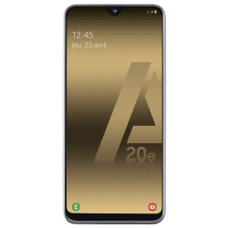Samsung A202F/DS Galaxy A20e - Double Sim - 32Go, 3Go RAM - Blanc