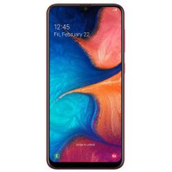 Samsung A205F/DS Galaxy A20 - Double Sim - 32Go, 3Go RAM - Rouge (Version NON Garantie*)