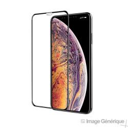 Verre Trempé Intégral Pour iPhone XS / iPhone 11 Pro - Noir