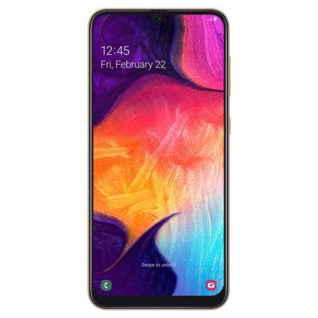 Samsung A505FN/DS Galaxy A50 - Double Sim - 128Go, 4Go RAM - Corail