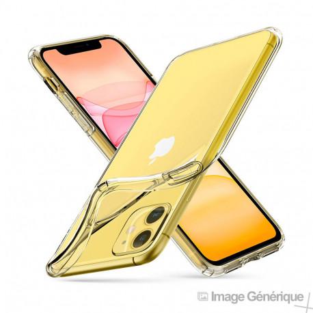 Coque Silicone Transparente pour iPhone 11