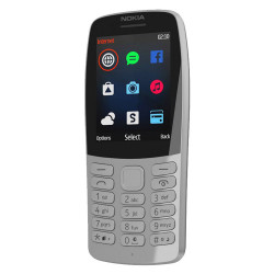 Nokia 210 - Double Sim - Gris (Version NON Garantie*)