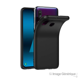 Coque Silicone pour Samsung Galaxy A40 - Noir