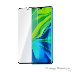 Verre Trempé Intégral Pour Xiaomi Mi Note 10 Pro (5D - Noir)
