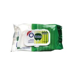 Paquet de 80 Lingettes Detox Virudice - Norme EN14476