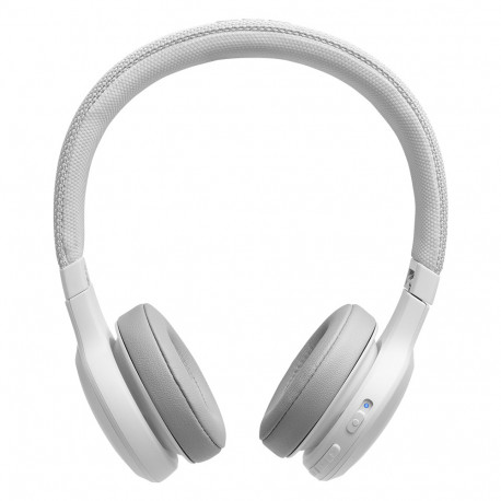 JBL Live 400BT (Casque Bluetooth) - Blanc