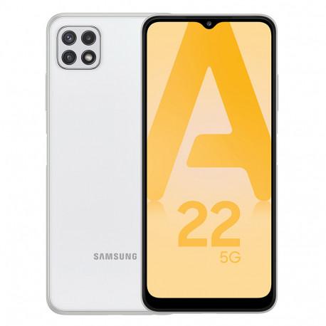 Samsung A226B/DSN Galaxy A22 5G (6.6'' - 64 Go, 4 Go RAM) Blanc